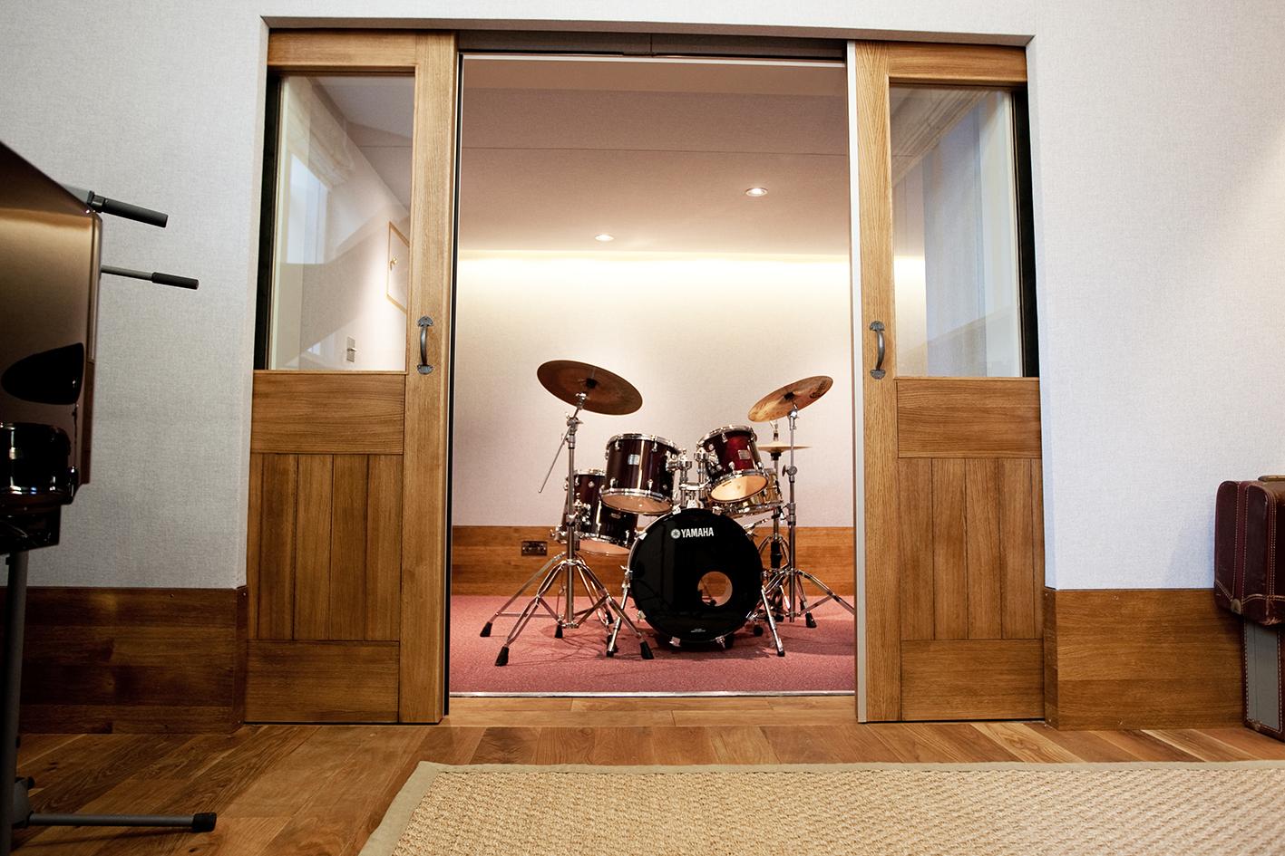 build recording studio