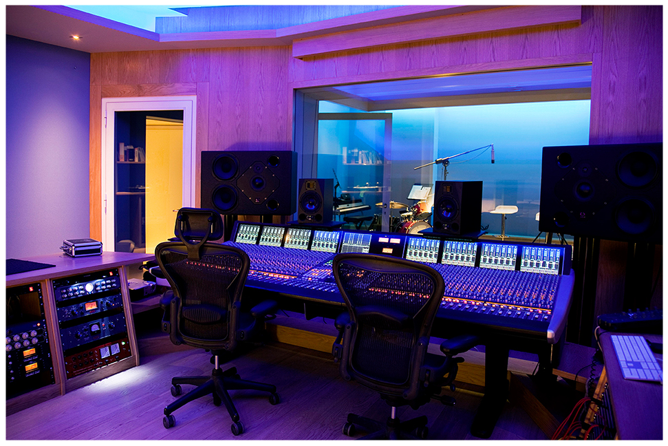 Recording Studio Interior Design Studio Creations