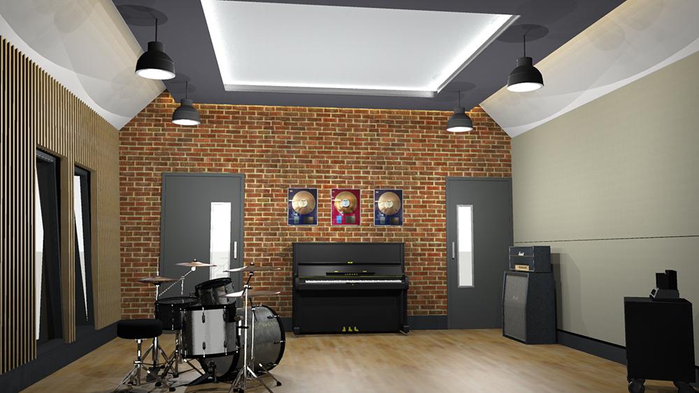 Recording Studio 3D 2