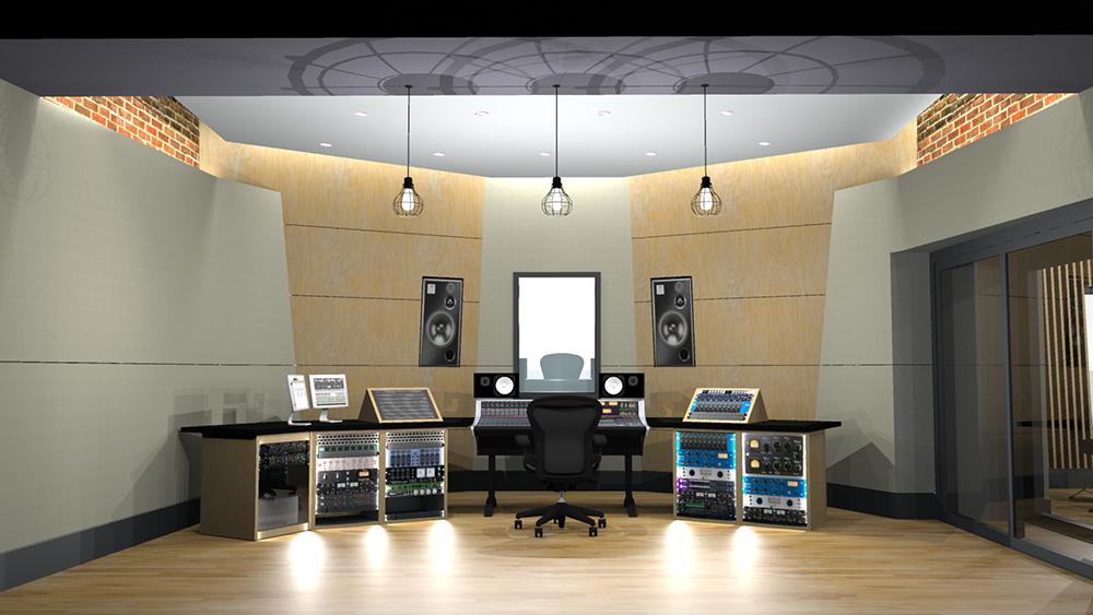 Recording Studio 3D 3