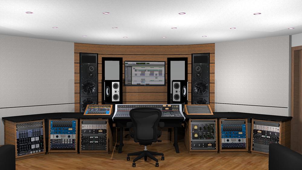 Recording Studio 3D 4
