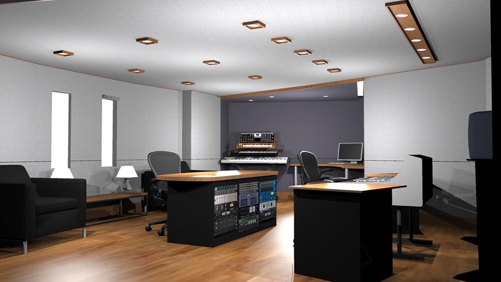 Recording Studio 3D 5